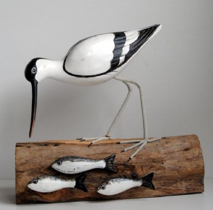Archipelago Avocet Fishing